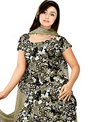 Take the fashion industry by storm in this beautiful printed suit. This Suit has beautiful printed kameez which is crafted with floral print work. Color combination of suit is fascinating and make you trendy look. This casual wear drape made with crepe fabric. Matching dupatta and churidar is available. Slight Color variations are possible due to differing screen and photograph resolutions.