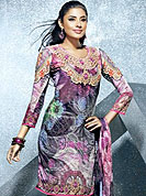 Be the cynosure of all eyes with this exquisite range of casual wear kurtis  in flattering colors and combinations. This fantastic faux crepe printed tunic is beautified with abstract art, floral and traditional motifs print work. Matching stole is available with this tunic. Bottom shown in the image is just for photography purpose. The tunic can be customize upto 40 inches. Slight Color variations are possible due to differing screen and photograph resolutions.