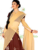 Symbol of fashion and beauty, each piece of our range of georgette lehenga choli is certain to increase your look. A Lehenga made with georgette Fabric is simply beautiful. This lehenga embellished with stone, sitara, zari and resham work. The beautiful embroidery on lehenga made it awesome and gives you stylish and attractive look to others. The matching blouse and chunari are enhanced your personality.  Slight Color variations are possible due to differing screen and photograph resolutions.