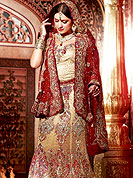 Outfit is a novel ways of getting yourself noticed. This drape blown up with Sequins, stone, zari, kundan, nag, resham and velvet patch work. Floral embroidery on lehenga and border make different to others. Contrast of color make attractive and impress to all. Lehenga with dupatta and choli gives you a singular and dissimilar look. Slight Color variations are possible due to differing screen and photograph resolutions.