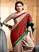The popularity of this dress comes from the fact that it showcases the beauty modesty as well as exquisitely. This beautiful saree is nicely designed with self weaving and patch work in fabulous style. It will enhance your personality and gives you a singular look. Graceful patch of brocade pallu of the saree is nice and impress to all. Matching blouse is available with this saree. This drape is made with dupion silk fabric. Slight color variations are due to differing screen and photography resolution.