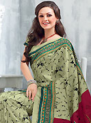 The most radiant carnival of style and beauty. This saree is nicely designed with abstract, geometric and traditional art print work in fabulous style. This beautiful saree is used for festival and casual porpose which gives you a singular and dissimilar look. Color blend of this saree is nice. This saree is made with art silk fabric. Matching blouse is available with this saree. Slight Color variations are possible due to differing screen and photograph resolutions.