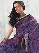 Envelope yourself in classic look with this charming saree. This saree is nicely designed with floral and geometric art print work in fabulous style. This beautiful saree is used for festival and casual porpose which gives you a singular and dissimilar look. Color blend of this saree is nice. This saree is made with art silk fabric. Matching blouse is available with this saree. Slight Color variations are possible due to differing screen and photograph resolutions.