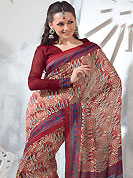 Style and trend will be at the peak of your beauty when you adorn this saree. This saree is nicely designed with floral, paisley, spiral, stripe and geometric art print work in fabulous style. This beautiful saree is used for festival and casual porpose which gives you a singular and dissimilar look. Color blend of this saree is nice. This saree is made with art silk fabric. Matching blouse is available with this saree. Slight Color variations are possible due to differing screen and photograph resolutions.