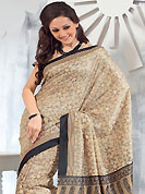 Exquisite combination of color, fabric can be seen here. This saree is nicely designed with floral, paisley and stripe print work in fabulous style. This beautiful saree is used for festival and casual porpose which gives you a singular and dissimilar look. Color blend of this saree is nice. This saree is made with art silk fabric. Matching blouse is available with this saree. Slight Color variations are possible due to differing screen and photograph resolutions.