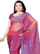 An occasion wear perfect is ready to rock you. Red tissue plain saree. This saree gives you a modern and different look in fabulous style. Matching blouse is available. Slight Color variations are possible due to differing screen and photograph resolutions.