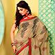 Fawn Art Silk Saree with Blouse