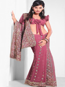 Vibrant Collection of Zari stone work sarees on Faux and Net sarees.