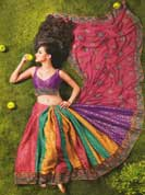 Vibrant collection chiffon, georgette floral and embroidry work with patch lace and stone work sarees