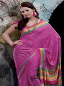Crepe sarees are measured as well as top wears for proper get together parties. You can wear crape sarees for any occasion. It will look a modern look and attractive. During summer it feel cool and decent. Emblem of fashion and beauty, each piece of our range of printed sarees is certain to enhance your look as per todays trends.