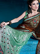 Timeless and less less expencive Shimmer adorn you formal and get perfection look in your formal party with this self printed traditional design. Slight Color variations possible due to differing screen and photograph resolutions.
