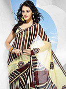 Ultimate collection designer saree with complete print work all over the saree.  Its cool and have a very modern look to impress all. Try out this years top trends, glowing, bold and natural collection. This weightless with net embroiderey patch work crafted for giving you ultimate look. Slight Color variations possible due to differing screen and photograph resolutions.
