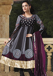 A wide variety of Net Indian cultural salwar kameez in attractive colours for summer. Presenting some classy and designer salwar kameez with  pretty colors. Slight Color variations possible due to differing screen and photograph resolutions