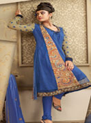 Vibrant Collction of Net embroidry Suits, With Patch Lace Work, With Full Sleevs.