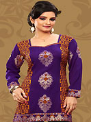 This purple and orange american crepe readymade tunic is nicely designed with floral and foil print work. This is a perfect casual wear readymade kurti. Bottom shown in the image is just for photography purpose. Minimum quantity order 12pcs in each style. Slight Color variations are possible due to differing screen and photograph resolutions.